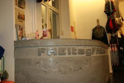 Tresen Umbau Freitag Fashion Berlin