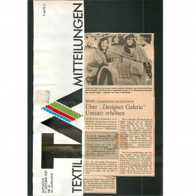 Textikwirtschaft 1988-2 Freitag Fashion QR