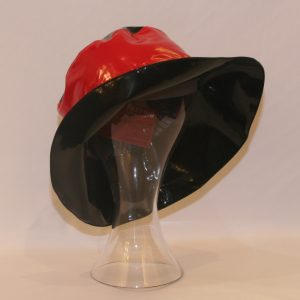 Hat Black Red