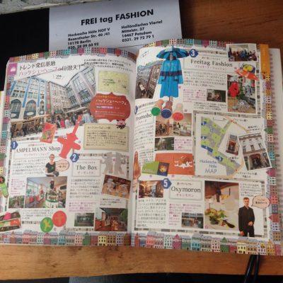 japanischer Reiseführer Freitag Fashion